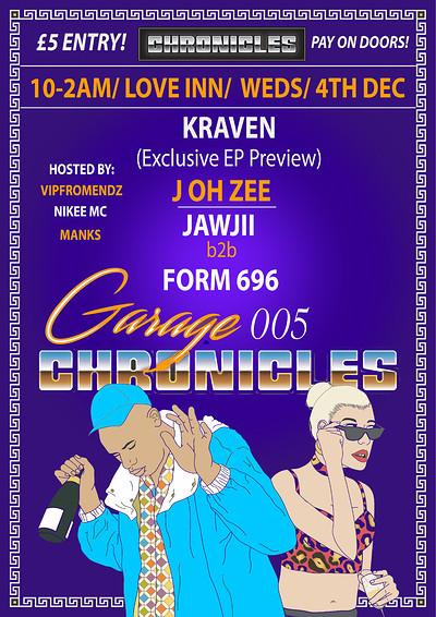 Garage Chronicles 005  at The Love Inn in Bristol