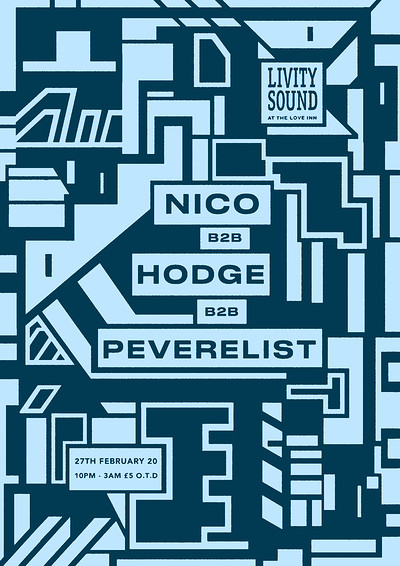 Livity Sound w/ Nico, Hodge & Peverelist at The Love Inn in Bristol