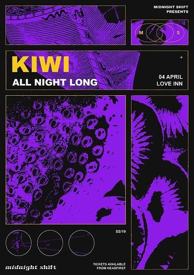 Midnight Shift Presents Kiwi All Night Long at The Love Inn in Bristol