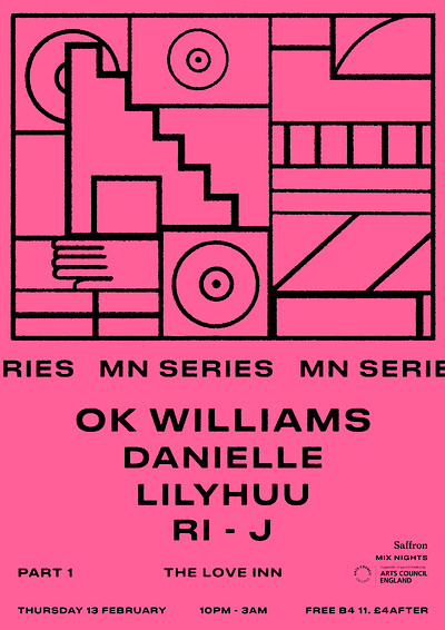 MN Residency: OK Williams + Danielle + guests at The Love Inn in Bristol