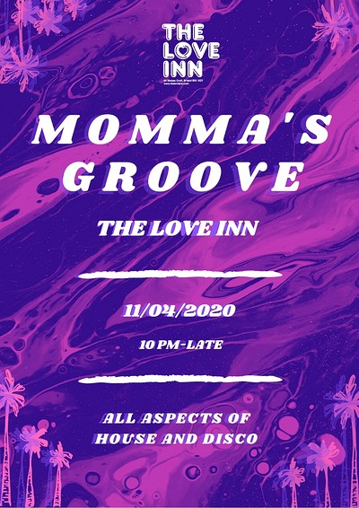 Momma's Groove at The Love Inn in Bristol