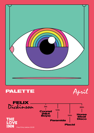 Palette ft. Horse Meat Disco at The Love Inn in Bristol