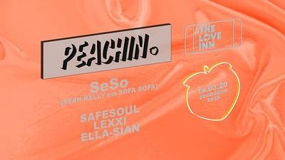 Peachin' #016 with SeSo (SEAN KELLY b2b SOFA SOFA) at The Love Inn in Bristol