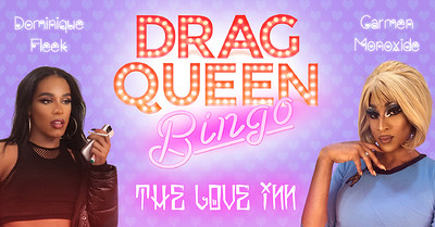 Postponed: Drag Queen Bingo: Disco Divas! at The Love Inn in Bristol