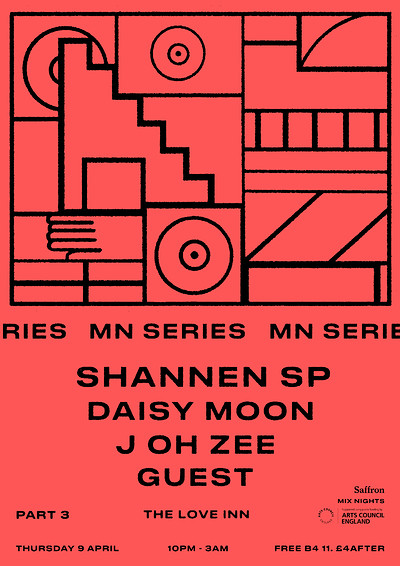 POSTPONED // MN Series: Shannen SP / Daisy Moon at The Love Inn in Bristol