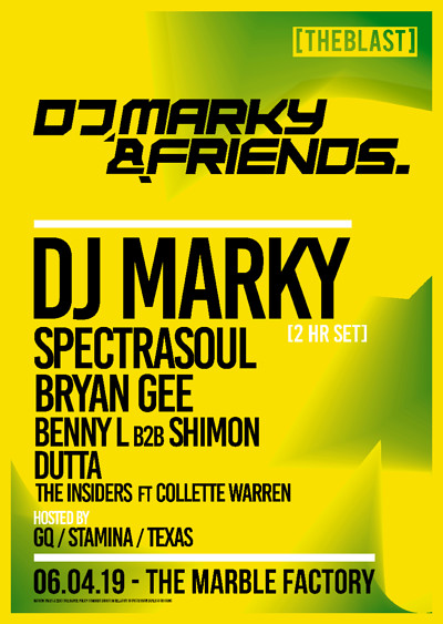 DJ Marky & Friends - Bristol at The Marble Factory in Bristol