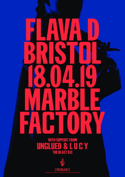 Flava D - Bristol - Marble Factory at The Marble Factory in Bristol