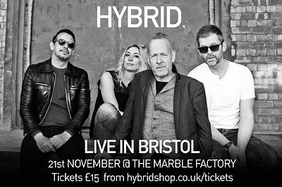 Hybrid Live at The Marble Factory in Bristol