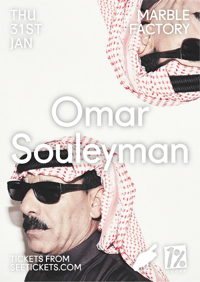 Omar Souleyman at The Marble Factory in Bristol