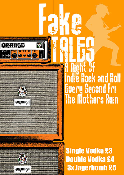 Fake Tales (indie, Rock 'n' Roll) at The Mothers Ruin in Bristol