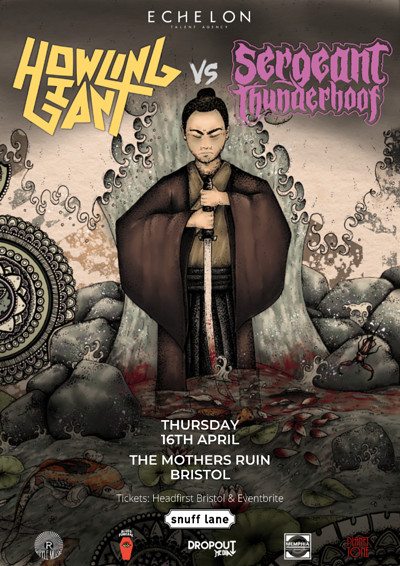 Howling Giant // Sgt. T'hoof // + More at The Mothers Ruin in Bristol
