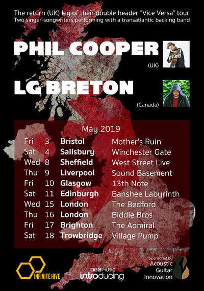 Phil Cooper / LG Breton at The Mothers Ruin in Bristol