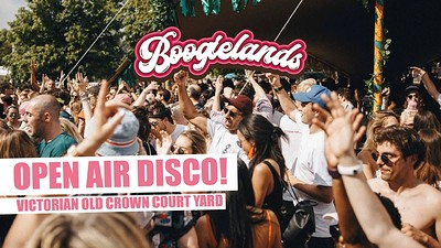 Boogielands Bristol: Open Air Disco! at The Old Crown Courts in Bristol