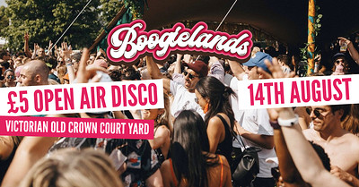 Boogielands • FREE day party! at The Old Crown Courts in Bristol