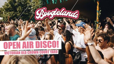 Boogielands • Open Air Disco! [Bristol] at The Old Crown Courts in Bristol