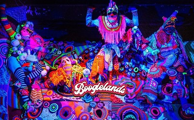 Boogielands: Psychedelic Winter Circus! at The Old Crown Courts in Bristol