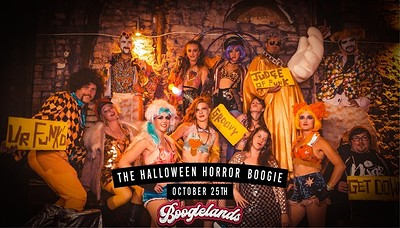 Boogielands: The Halloween Horror Boogie!  at The Old Crown Courts in Bristol