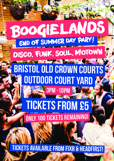 Bristol Old Crown Courts: £5 Disco Day Party! at The Old Crown Courts in Bristol