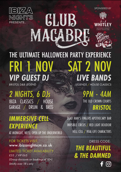 Club Macabre at The Old Crown Courts in Bristol
