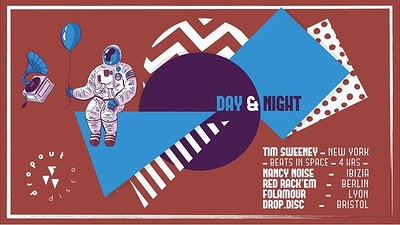 Dropout Disco // Day & Night  at The Old Crown Courts in Bristol