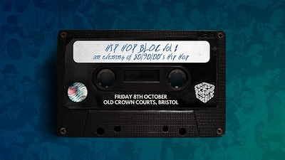 HipHopBloc • Bristol Prison Party! at The Old Crown Courts in Bristol