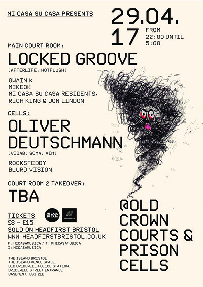 Mi Casa Su Casa Presents Bank Holiday Takeover! at The Old Crown Courts in Bristol