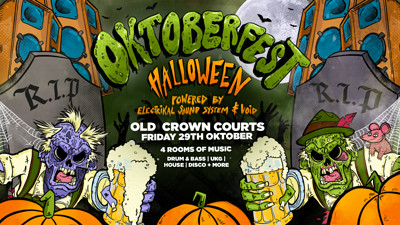 Oktoberfest Halloween!  at The Old Crown Courts in Bristol