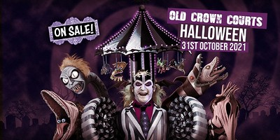 Old Crown Courts: Halloween 2021 at The Old Crown Courts in Bristol