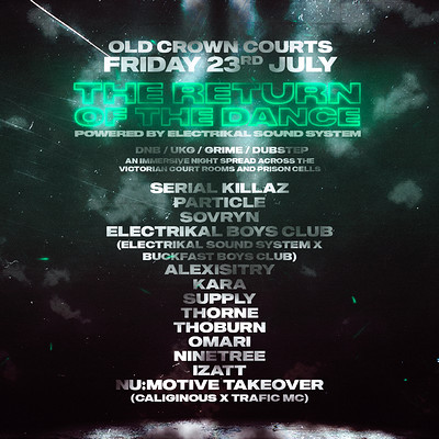 Old Crown Courts: The Return of The Dance at The Old Crown Courts in Bristol