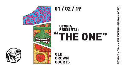 Utopia Presents: The One at The Old Crown Courts in Bristol