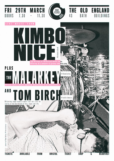 *Kimbo Nice* Plus support live at The Old England at The Old England Pub in Bristol