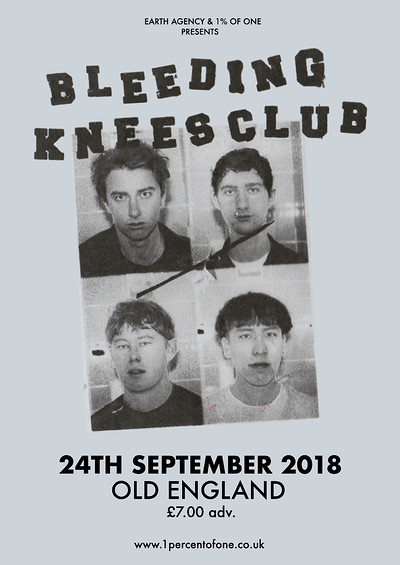 Bleeding Knees Club at The Old England Pub in Bristol