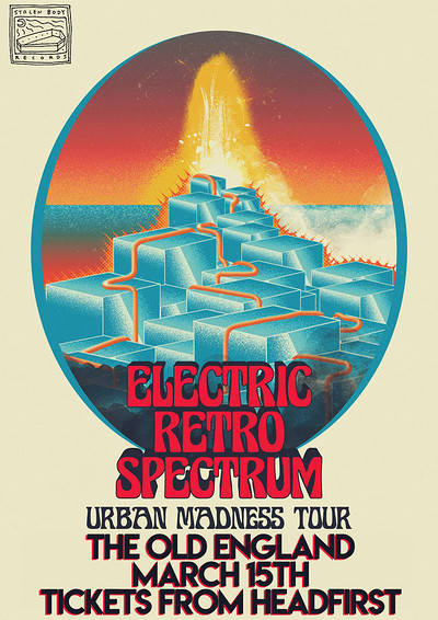 Electric Retro Spectrum w/ Dirty White Fever at The Old England Pub in Bristol