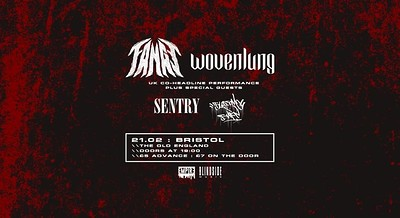 Fangs / Wovenlung + Supports at The Old England Pub in Bristol