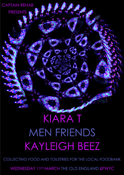 KIARA T // MEN FRIENDS // KAYLEIGH BEEZ at The Old England Pub in Bristol