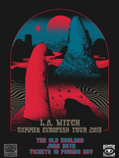 L.A. Witch | Wych Elm | Captain Suun  at The Old England Pub in Bristol