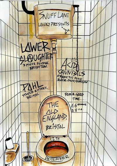 Lower Slaughter / Acid Cannibals / Pohl at The Old England Pub in Bristol