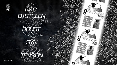 No Future: NKC b2b DJ Stolen, Doubt, Syn, Tension at The Old England Pub in Bristol