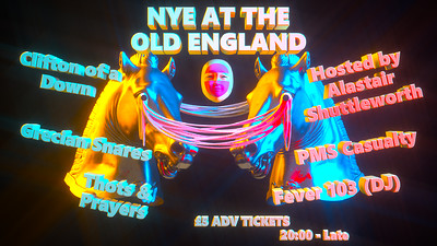 NYE at The Old England at The Old England Pub in Bristol