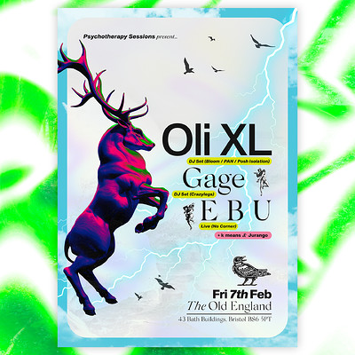 PTS w/ Oli XL, Gage & E B U at The Old England Pub in Bristol