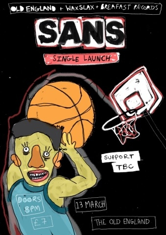 SANS Single Launch at The Old England Pub in Bristol