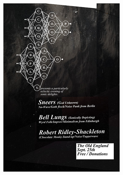 Sneers, Bell Lungs & Robert Ridley-Shackleton at The Old England Pub in Bristol