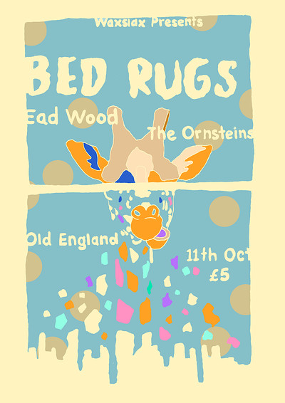 Waxslax Presents: Bed Rugs ( Burger Records )  at The Old England Pub in Bristol
