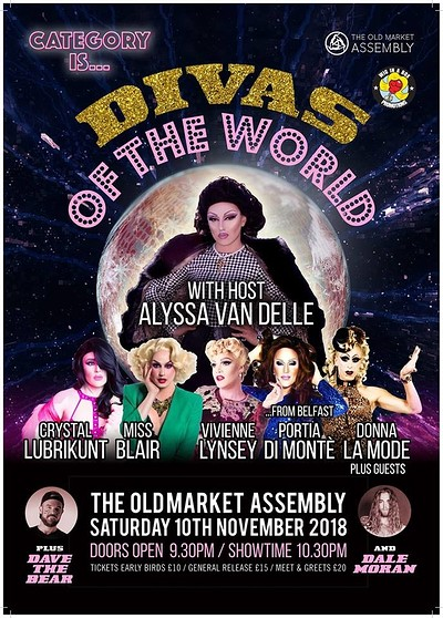 Category is...Divas of the World at The Old Market Assembly in Bristol