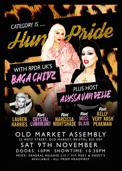 Category is...Hun Pride at The Old Market Assembly in Bristol