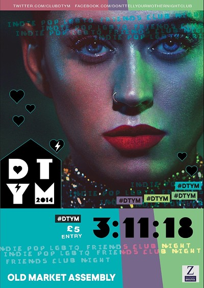 DTYM Takeover - Saturday 3rd November at The Old Market Assembly in Bristol