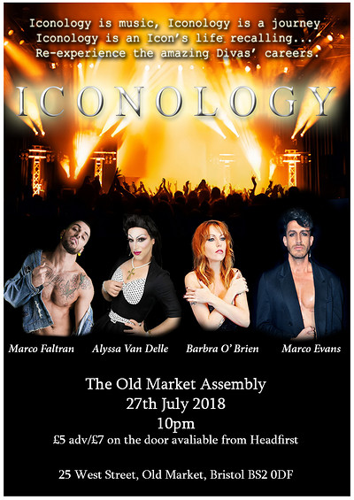 ICONOLOGY at The Old Market Assembly in Bristol