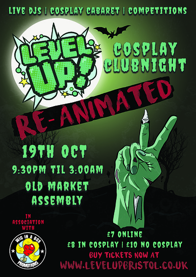 Level Up! Reanimated at The Old Market Assembly in Bristol