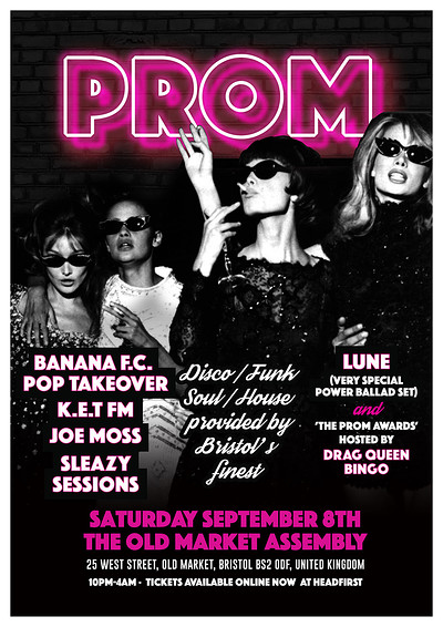 PROM at The Old Market Assembly in Bristol