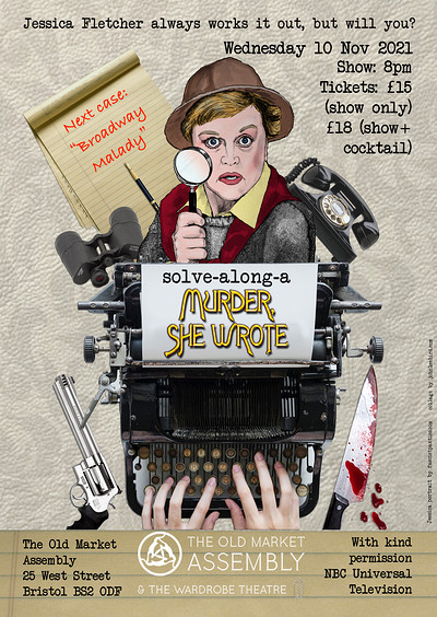 Solve-A-Long Murder-She-Wrote at The Old Market Assembly in Bristol